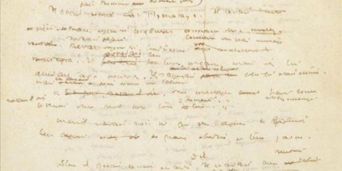 Un manuscrito desconocido de