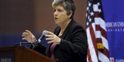 En la imagen, la secretaria de Seguridad Nacional de Estados Unidos, Janet Napolitano. EFE/Archivo