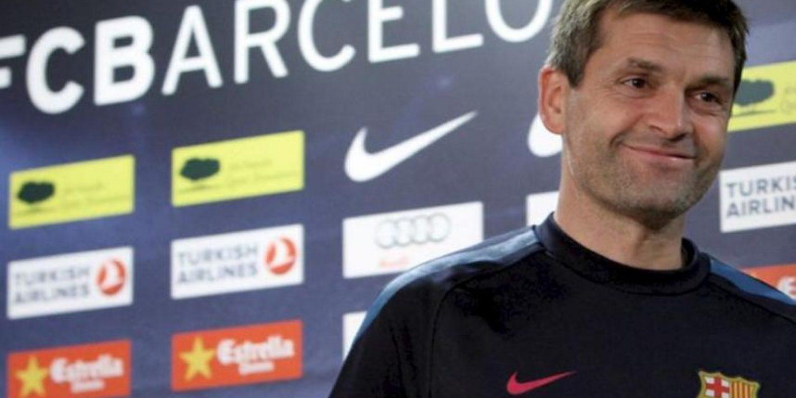 El segundo entrenador del F.C.Barcelona, Tito Vilanova. EFE/Archivo