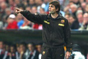 Parece de 1970, pero no. Es de 2009, partido contra el Bayern Münich, Champions League. Foto:Getty
