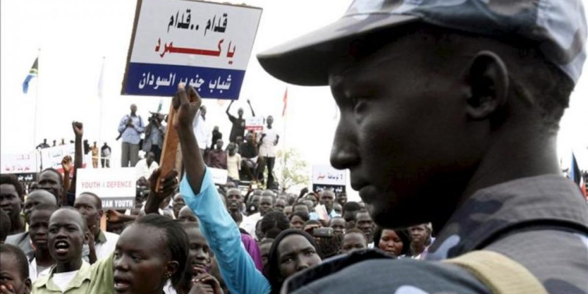 Sudán anuncia la captura de un británico, un noruego y un sudafricano en Heglig