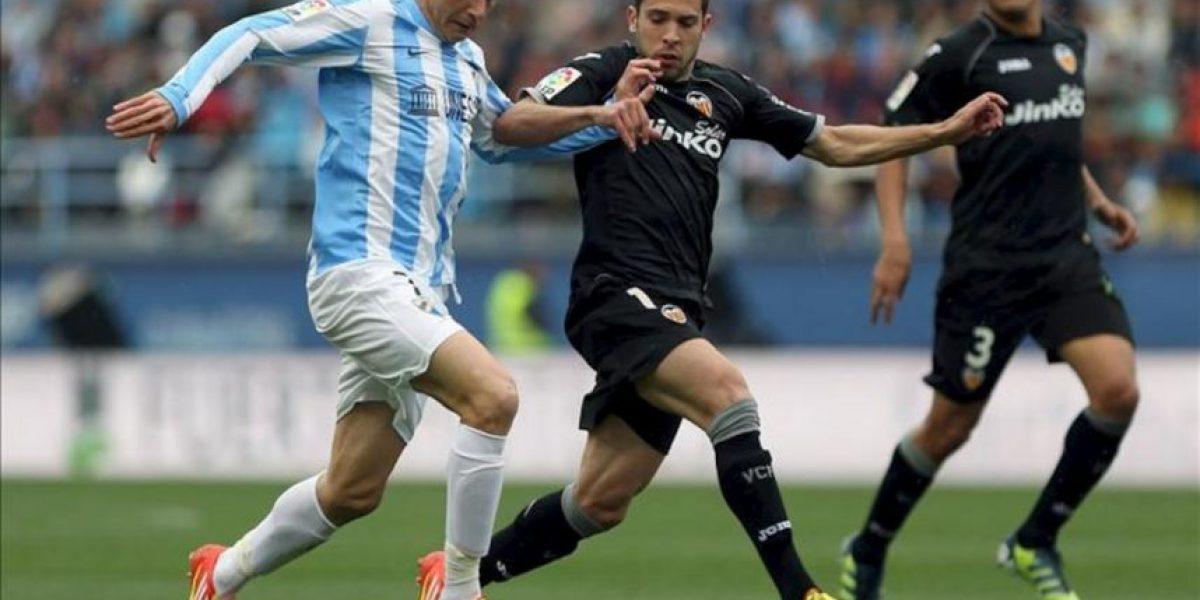 1-0. Valencia y Málaga siguen en