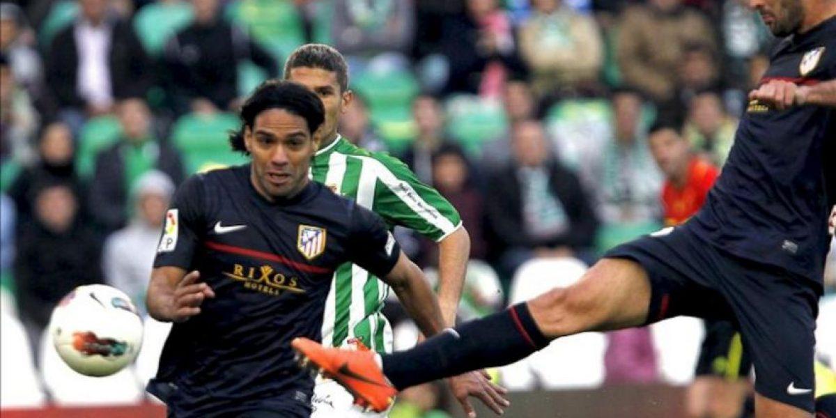 2-2. El colombiano Falcao recupera un punto para el Atlético en un partido
