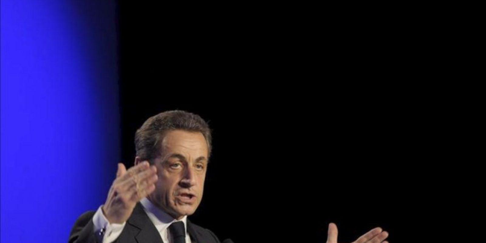 El presidente de Francia y candidato a la reelección, Nicolas Sarkozy. EFE/Archivo