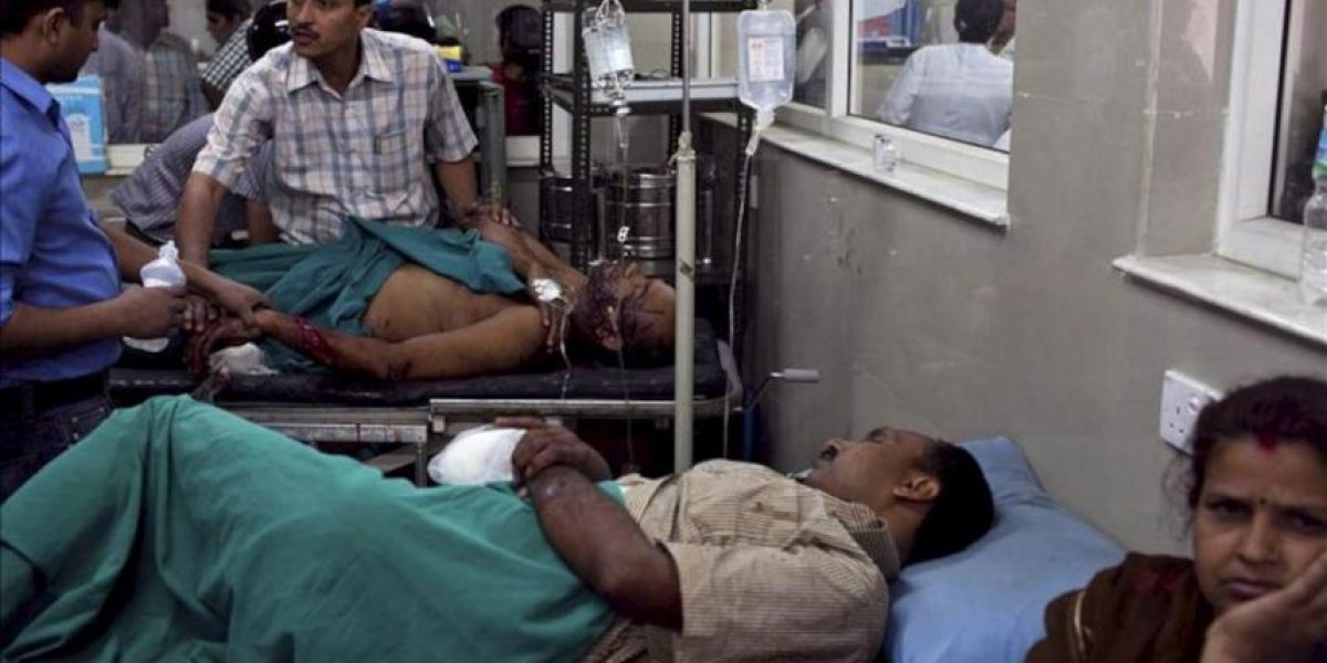Cinco manifestantes muertos en un ataque con explosivos en el sur de Nepal