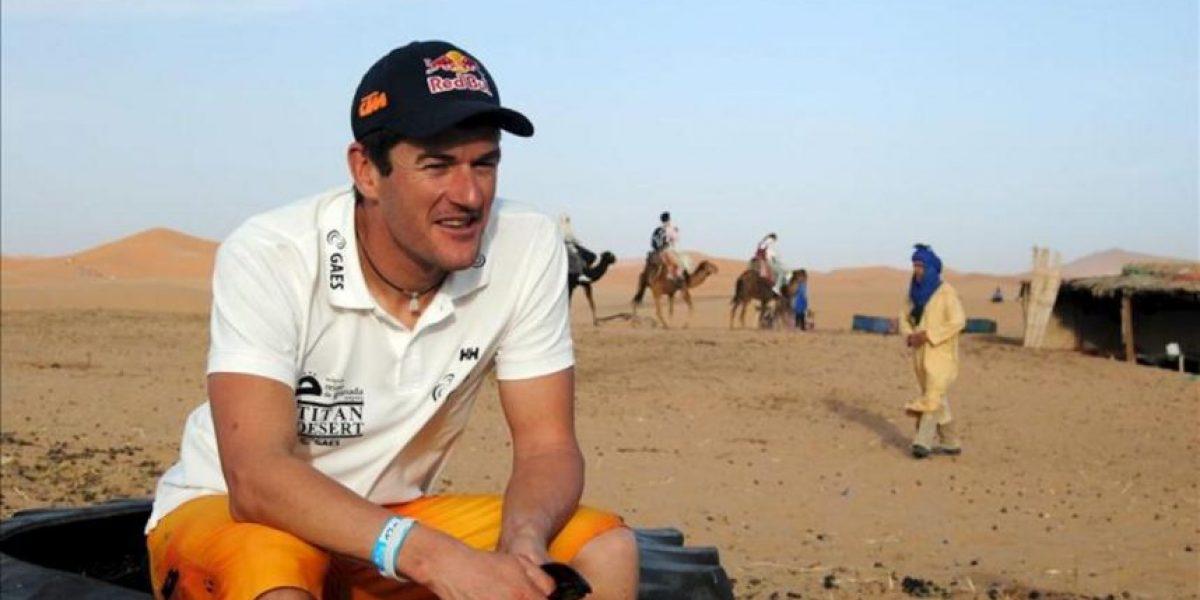 Coma, un tricampeón del Dakar en bicicleta