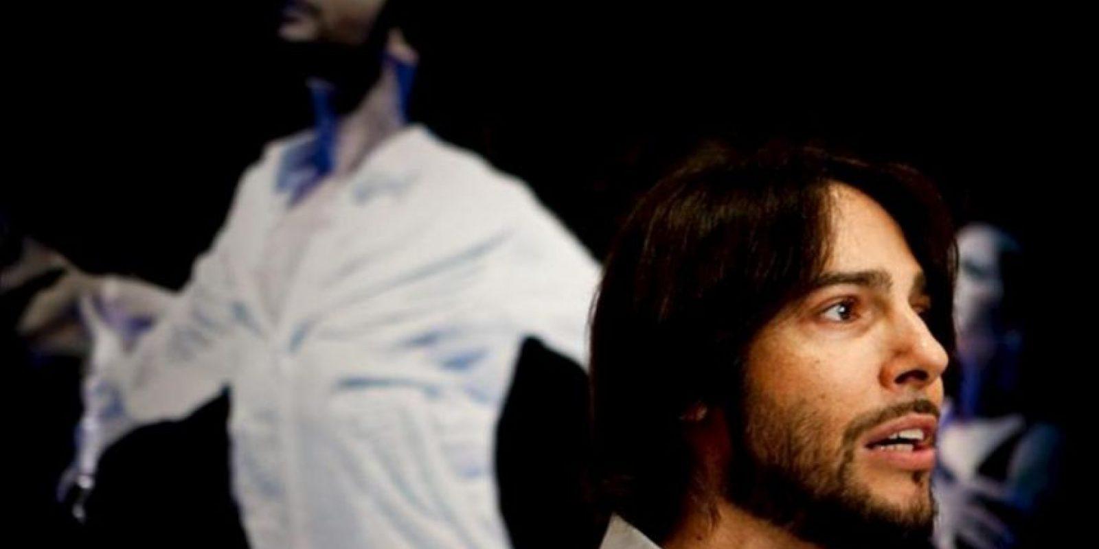 """El bailaor español de flamenco Joaquín Cortes ofrece rueda de prensa donde habló sobre la presentación el próximo 2 de mayo del espectáculo que lleva por nombre """"Calé"""", en la ciudad de Caracas, Venezuela. EFE"""