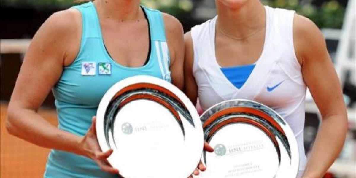 Sara Errani y Roberta Vinci se hacen con el título de dobles en Roma