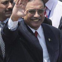 En la imagen, el presidente paquistaní, Asif Alí Zardari. EFE/Archivo