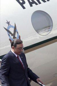 En la imagen, el presidente de Pakistán Asif Ali Zardari. EFE/Archivo