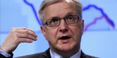El comisario europeo de Economía y Asuntos Monetarios, Olli Rehn. EFE/Archivo