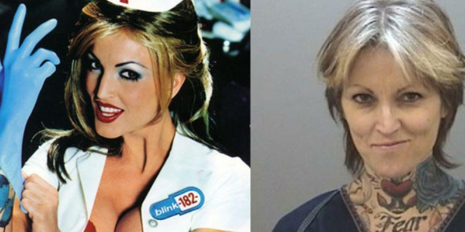 Esta es la enfermera del disco de Blink 182 Foto:Buzzfeed