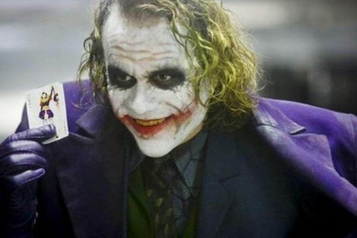 Heath Ledger falleció hace casi 5 años Foto:Thechive.com