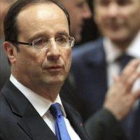 El presidente francés Francois Hollande durante la cumbre europea celebrada en Bruselas, Bélgica. EFE