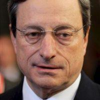 El presidente del Banco Central Europeo, el italiano Mario Draghi, hoy en Bruselas. EFE