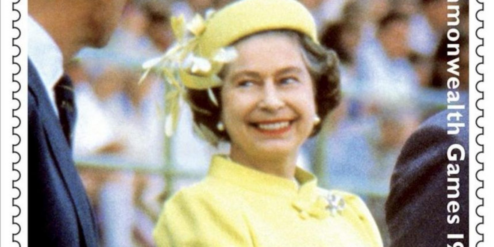 Foto cedida hoy, 24 de mayo, por la Royal Mail (Correos británicos) de uno de los de sellos postales conmemorativos de los sesenta años en el trono de Isabel II, colección cuyo tercero y último conjunto será emitido el próximo 31 de mayo. EFE