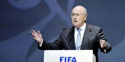 Joseph Blatter, presidente de la FIFA, interviene durante la apertura de la Conferencia Médica del organismo rector del fútbol mundial que se ha celebrado en Budapest, Hungría. EFE