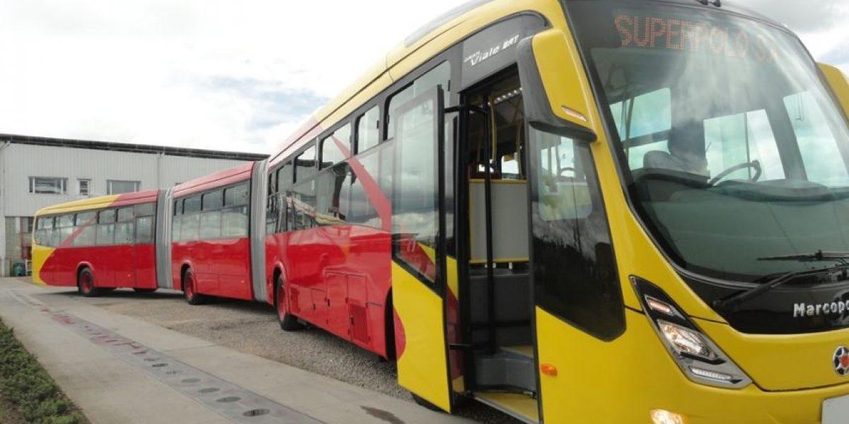 Así son los nuevos buses de Transmilenio