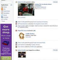 Facebook en 2006 Foto:facebookcraze.com