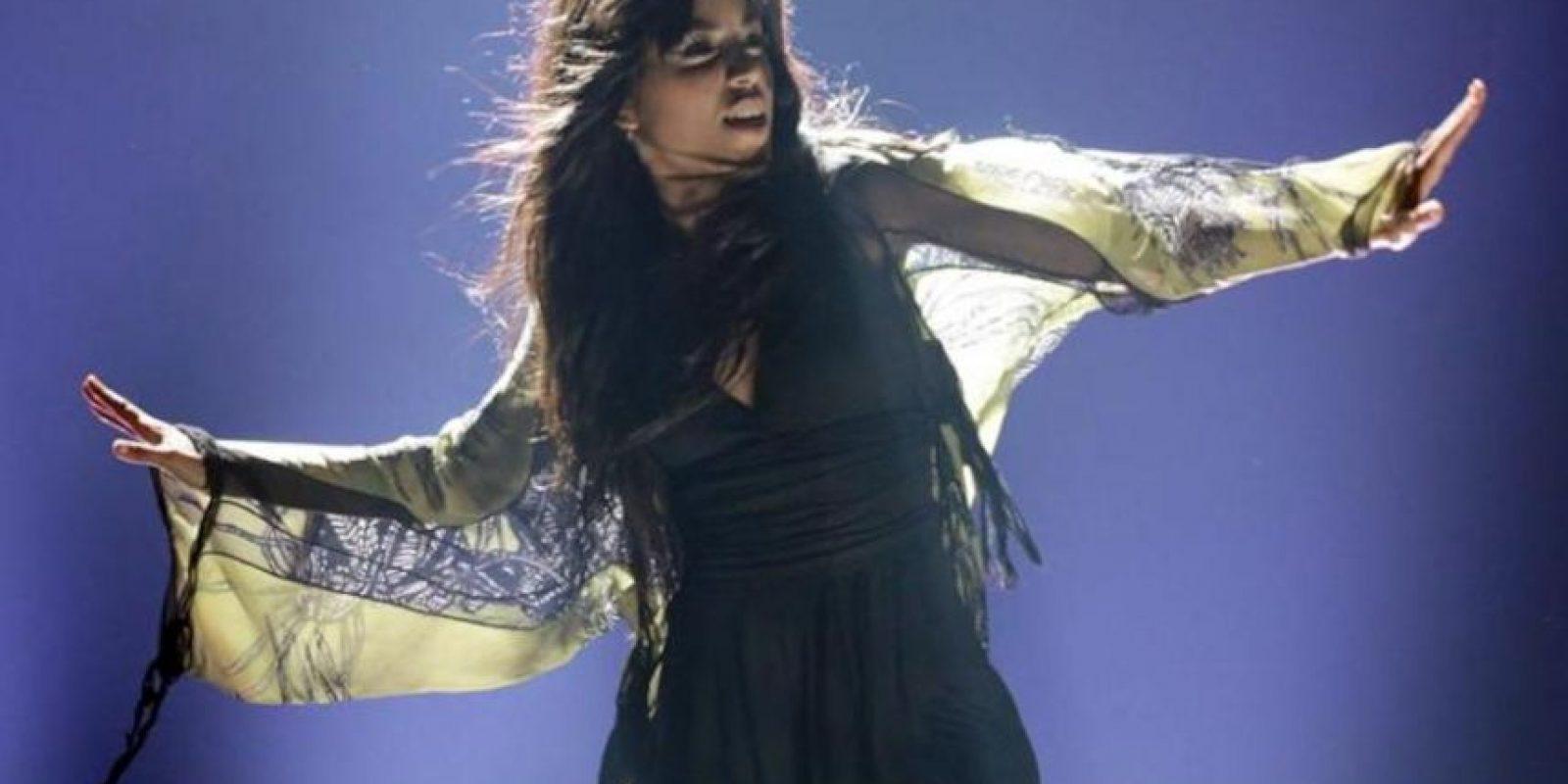 La sueca Loreen se presenta en la segunda semifinal del Concurso de la Canción Eurovisión 2012. EFE