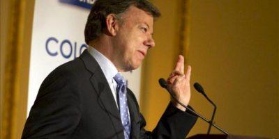El presidente de Colombia, Juan Manuel Santos. EFE/Archivo