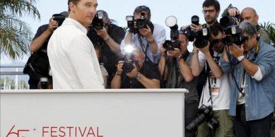 El actor estadounidense Matthew McConaughey, posa durante la presentación de 'Mud'. EFE