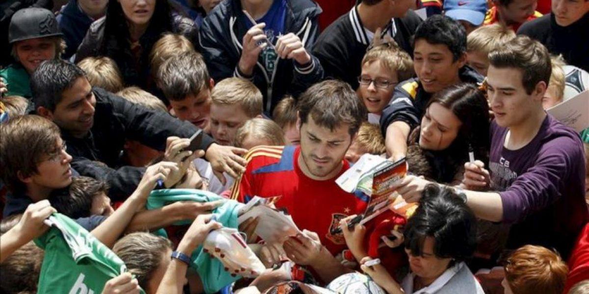 Locura en el último día de la selección española en Schruns