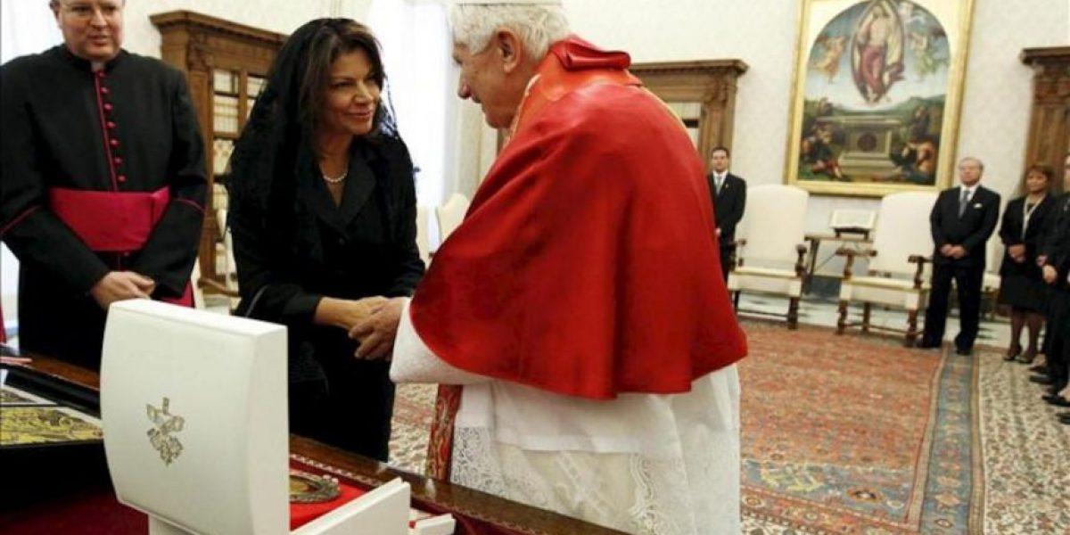 El papa y Chinchilla abogan por reforzar las relaciones entre El Vaticano y Costa Rica