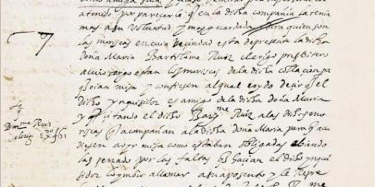 Una hispanista descubre un autógrafo inédito de Góngora sobre la Inquisición