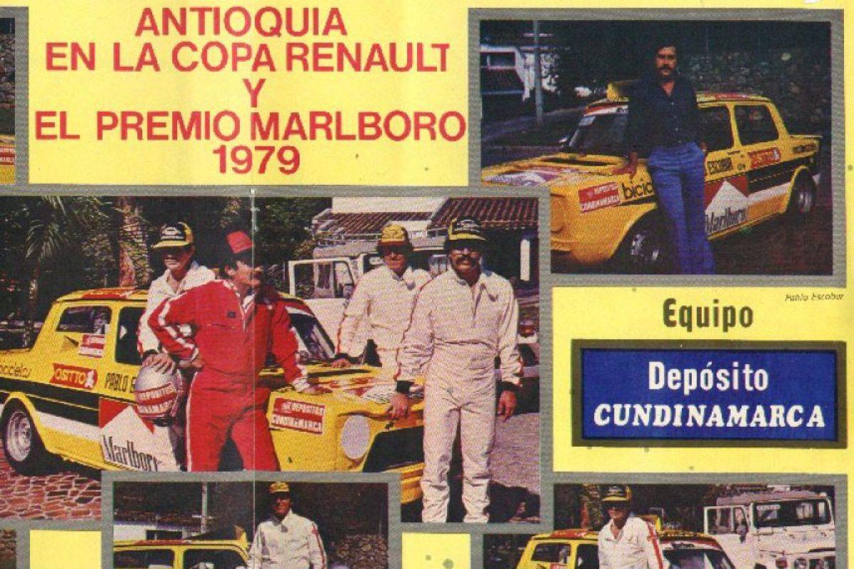 """Aviso a color de su equipo """"Depósito Cundinamarca"""" Foto:Revista Auto y Pista. Imagen Por:"""