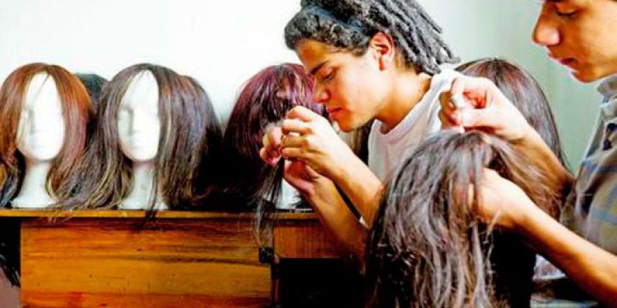 En Medellín, ellas cambiaron su cabello por una sonrisa