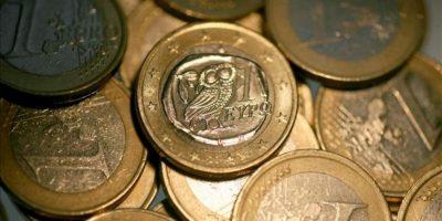 Una moneda griega de un euro. EFE/Archivo