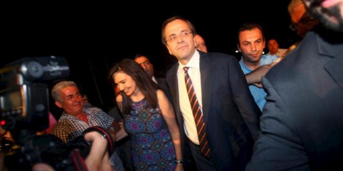 Los conservadores griegos ganan las elecciones y podrán formar gobierno con el Pasok