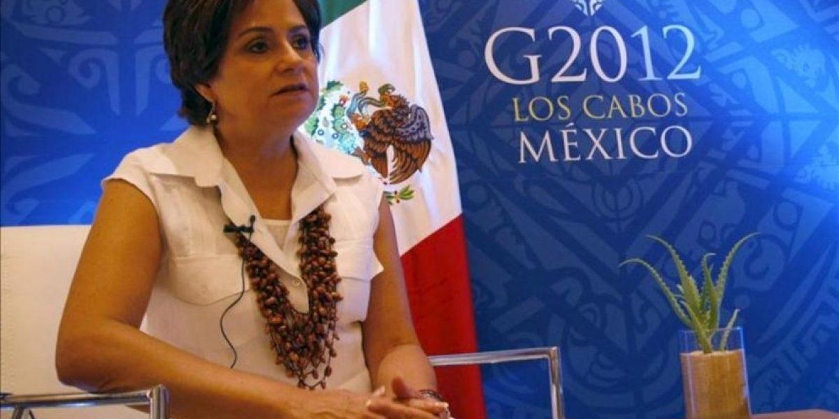 El G20 ocupa huecos de algunos foros internacionales, según Patricia Espinosa
