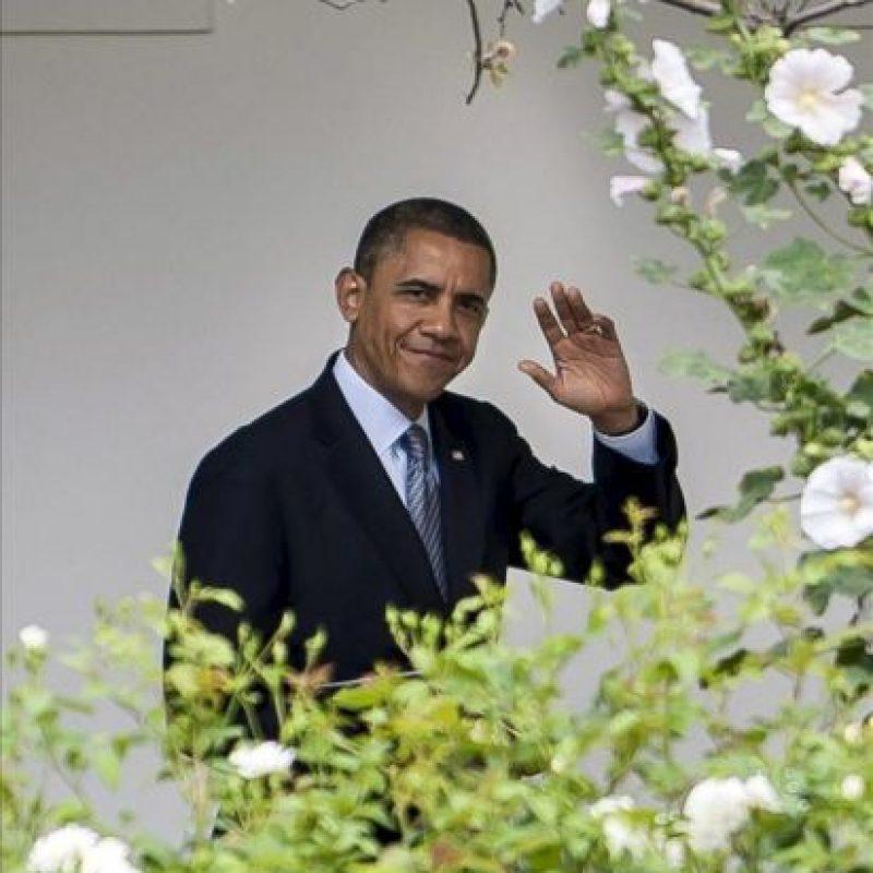 """El presidente de EE.UU., Barack Obama, calificó hoy de """"positivo"""" el resultado de las elecciones legislativas griegas, donde se impusieron las fuerzas europeístas, y reiteró su preocupación por la desaceleración del crecimiento mundial al abogar por evitar el proteccionismo. EFE/archivo"""