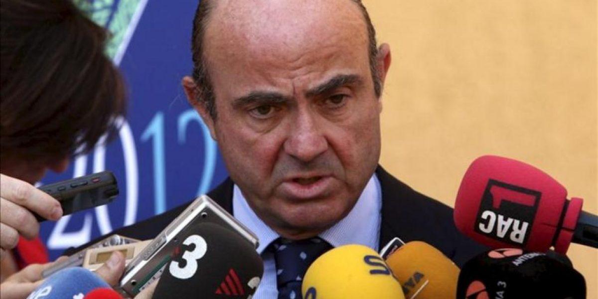 De Guindos cree que los mercados verán pronto que España es un país solvente