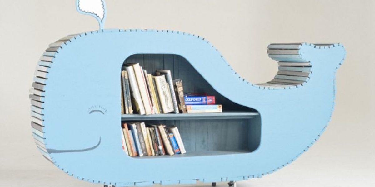 [Galería] Originales muebles para guardar libros