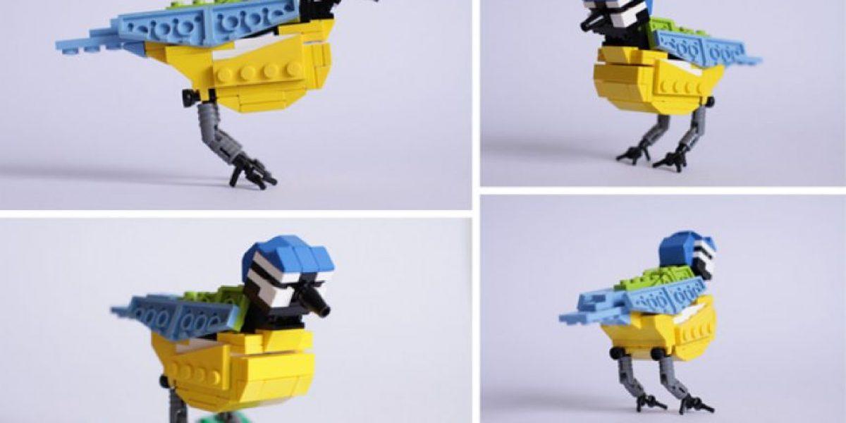 [Galería] 5 originales pajaros hechos con fichas de lego