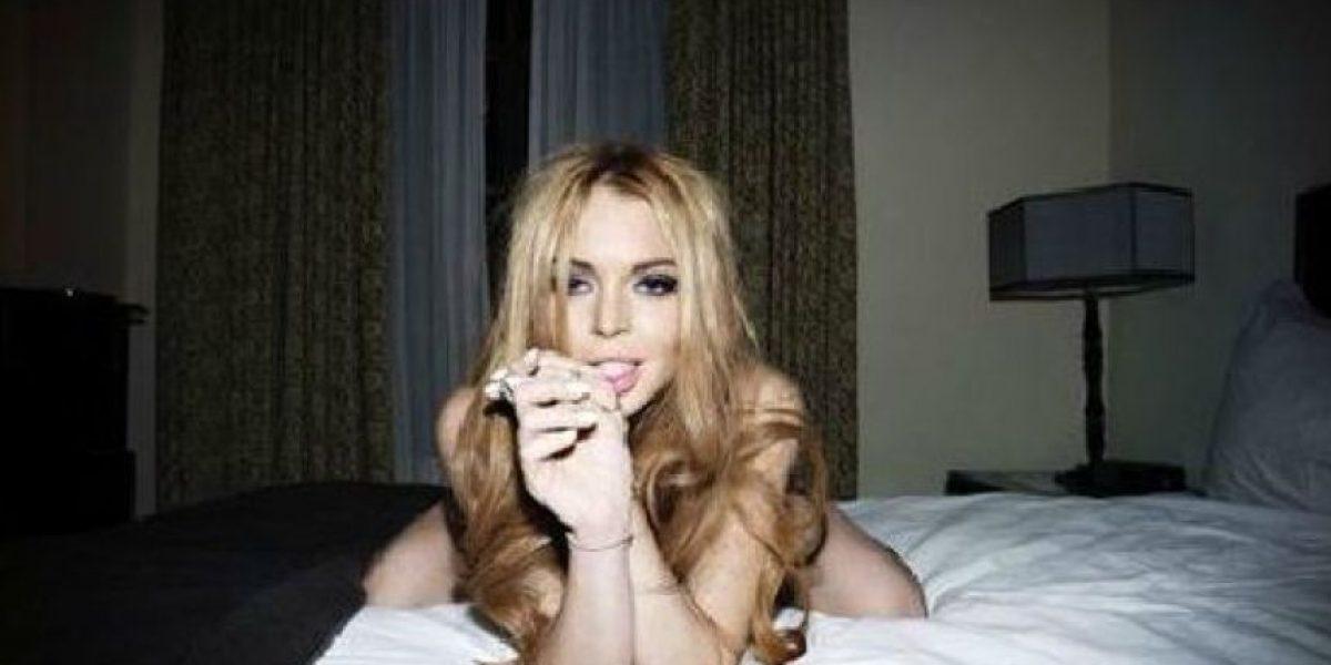 [Galería] Estas serían las fotos más sensuales de Lindsay Lohan