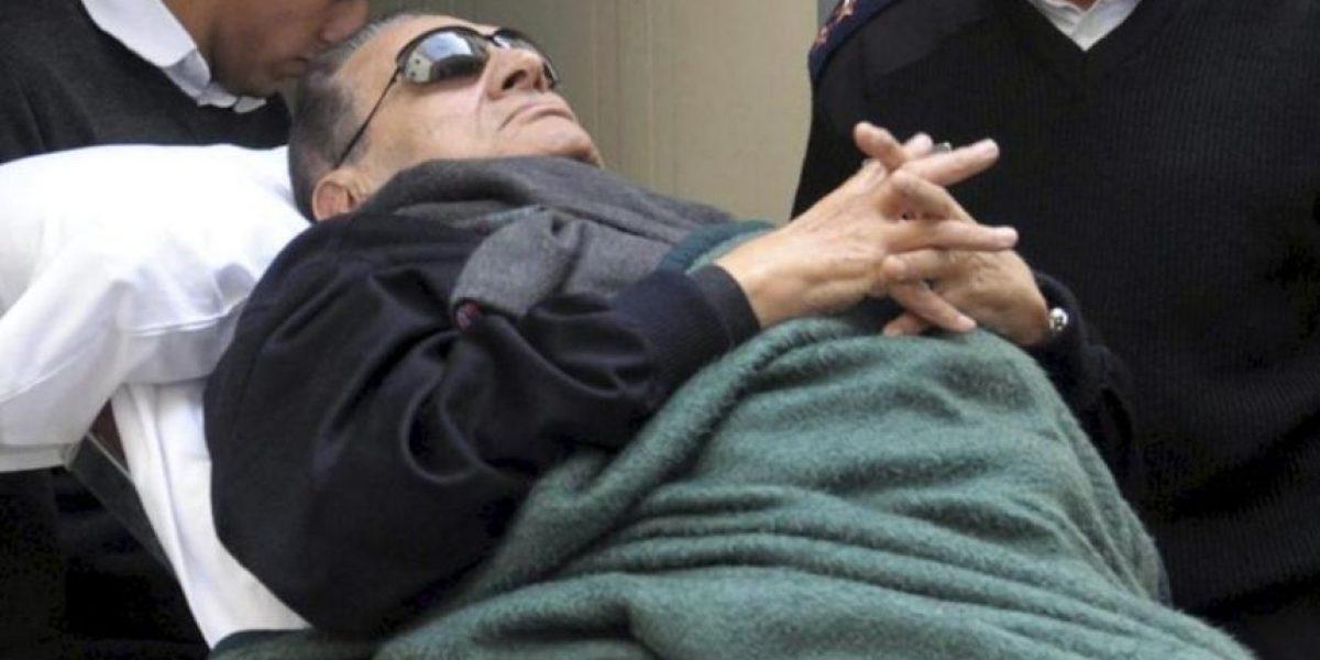 Hosni Mubarak, clínicamente muerto