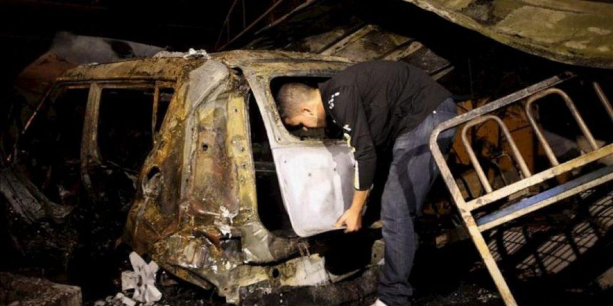 Las milicias palestinas de Gaza siguen con disparos de cohetes e Israel responde