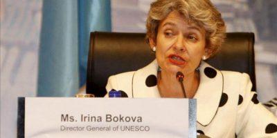 La directora general de la UNESCO, Irina Bokova. EFE/Archivo