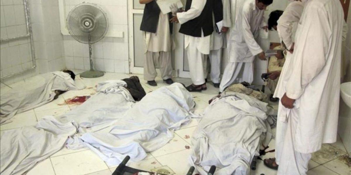 Al menos 21 muertos en un ataque suicida en el este de Afganistán