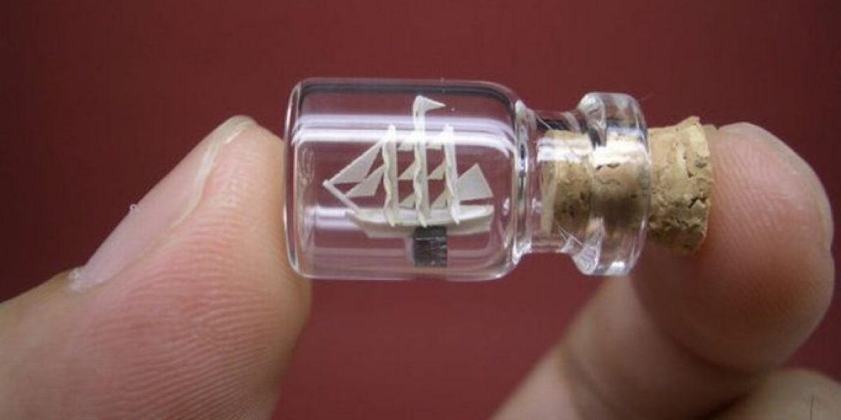 [Galería] Arte en frasco miniatura