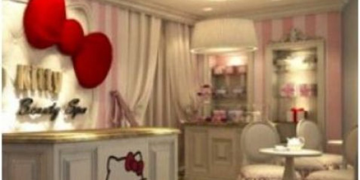[Galería] Abre el primer spa de Hello Kitty