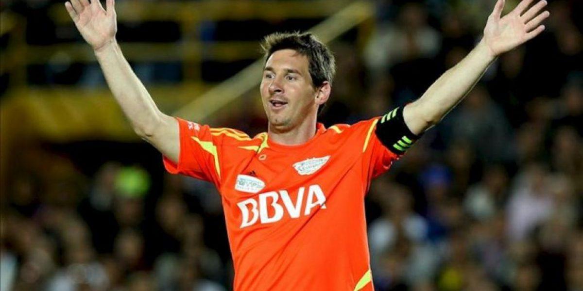 Bogotá vive una noche mágica con Messi, sus amigos y otras estrellas