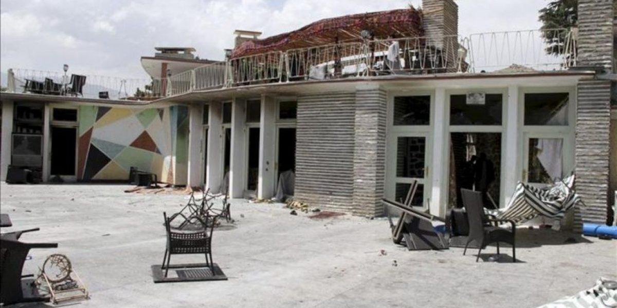 El asalto talibán a un hotel de las afueras de Kabul causa 26 muertos