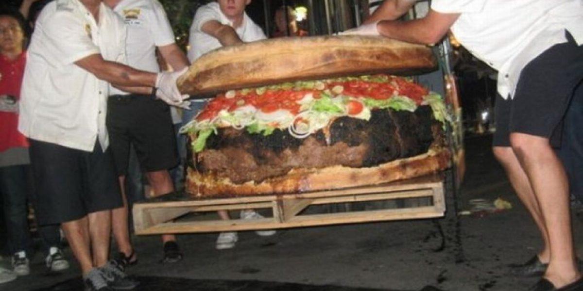 [Galería] La hamburguesa más grande del mundo