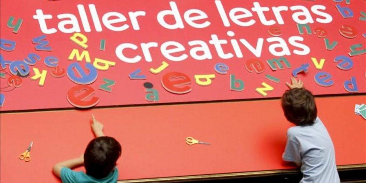 Las palabras de los niños toman la sede del Instituto Cervantes en el