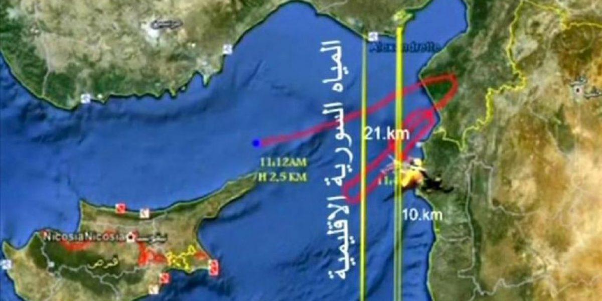 Siria reconoce el derribo de un avión turco que volaba sobre sus aguas